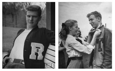 Baseball jacket history